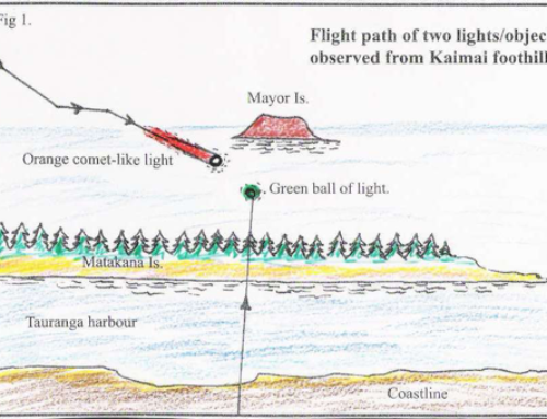 New Zealand UFO Sightings Associated with Volcanic/Seismic Activity