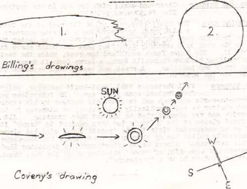 Learning Curve: UFO Sightings by New Zealand School Children and Staff